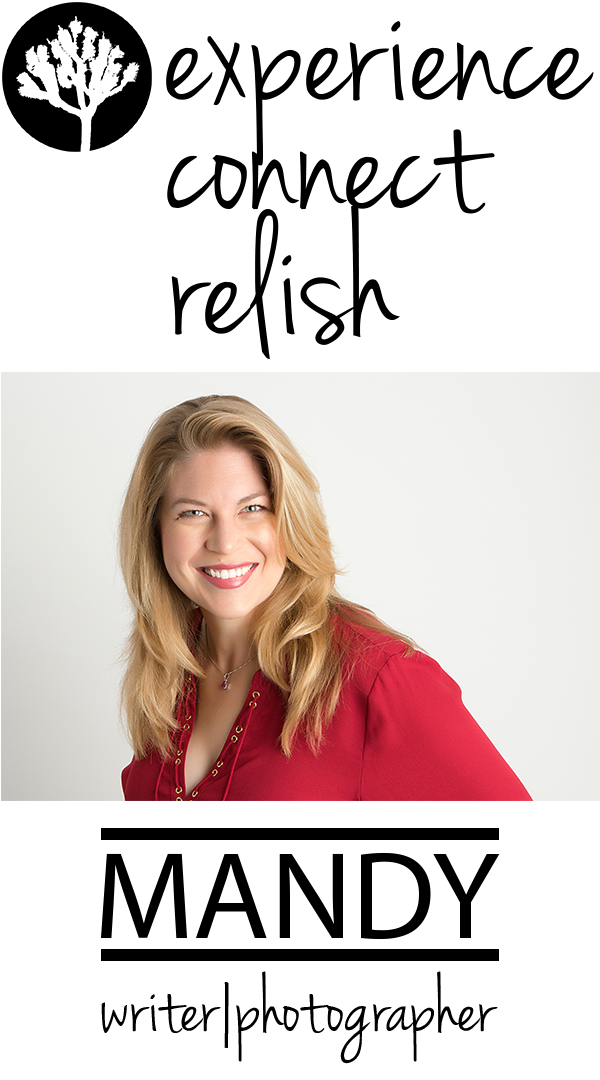 experience connect relish — by Mandy
